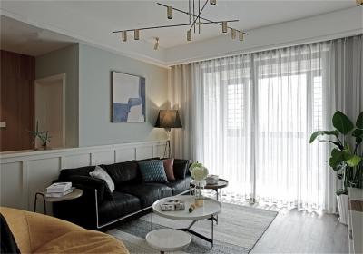 保利华都142平四室现代风格装饰效果图