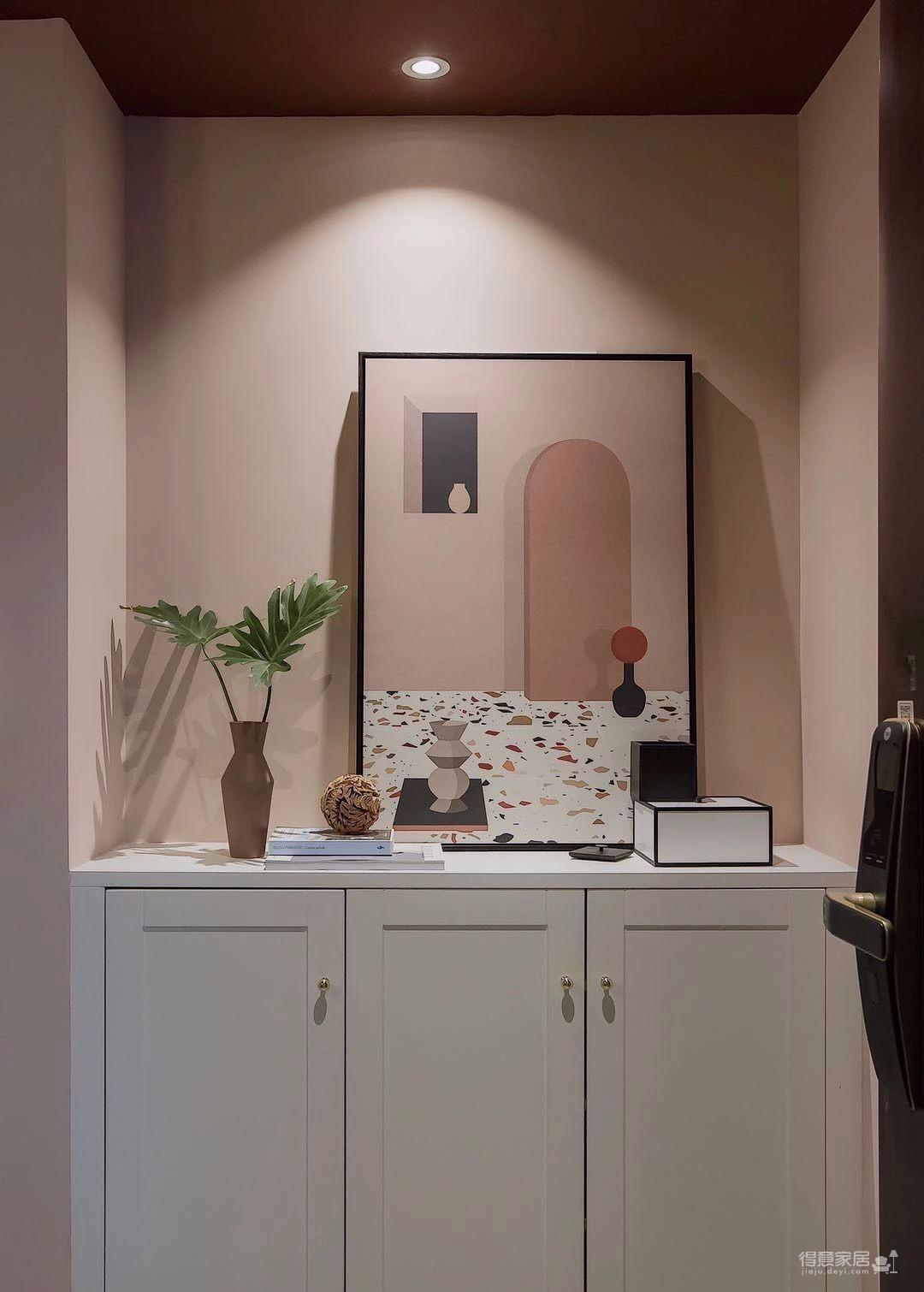 100㎡混搭风格装修,大胆的色彩搭配,打造前卫艺术家居空间 !图_2