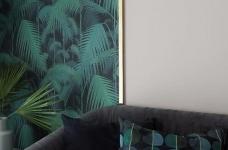 100㎡混搭风格装修,大胆的色彩搭配,打造前卫艺术家居空间 !图_4