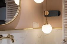 100㎡混搭风格装修,大胆的色彩搭配,打造前卫艺术家居空间 !图_15