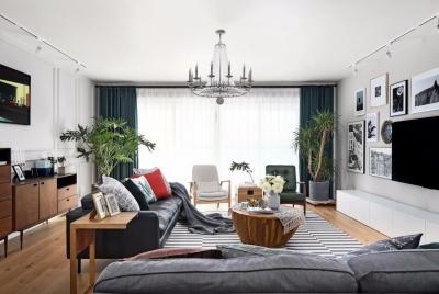 两居室76㎡居家风精选案例
