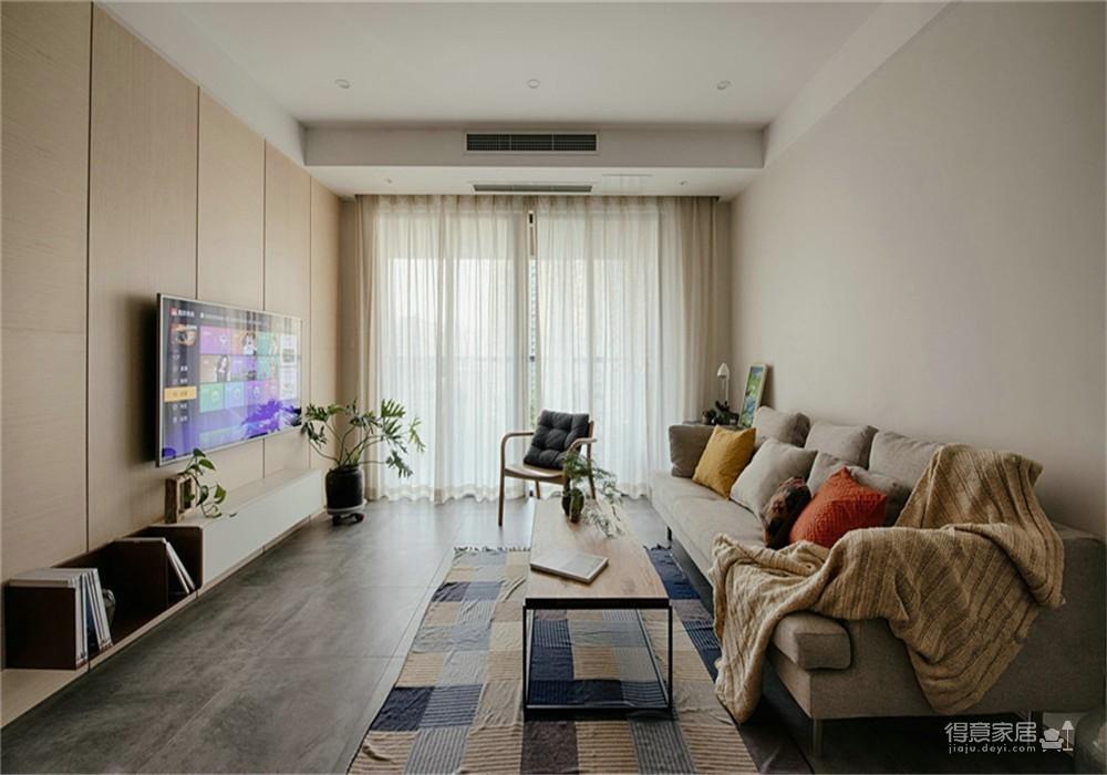 武汉国博新城103三居日式风格装饰效果图
