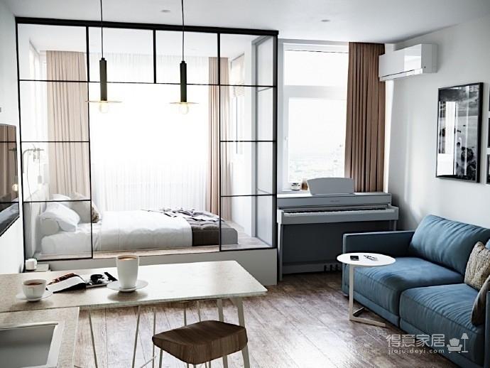 50平活力简约小公寓