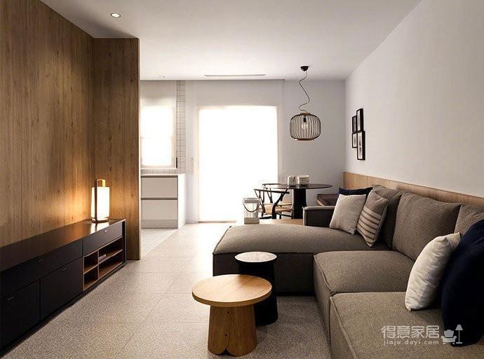 50 平米极简小公寓图_7