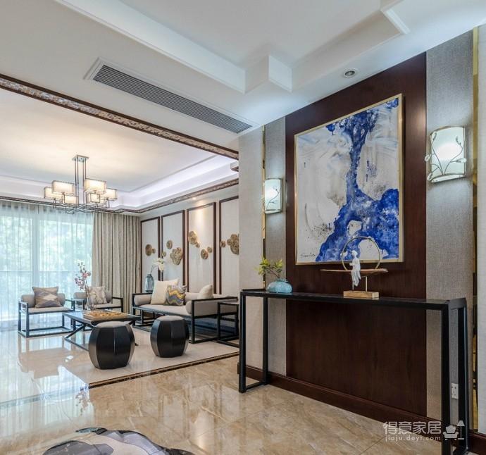 110㎡儒雅新中式三居室