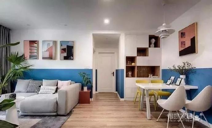全屋半墙设计,告别大白墙如此简单图_7