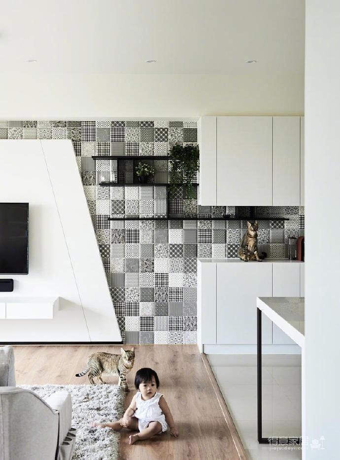 80m²两居室简约宜家风,简单舒适图_3