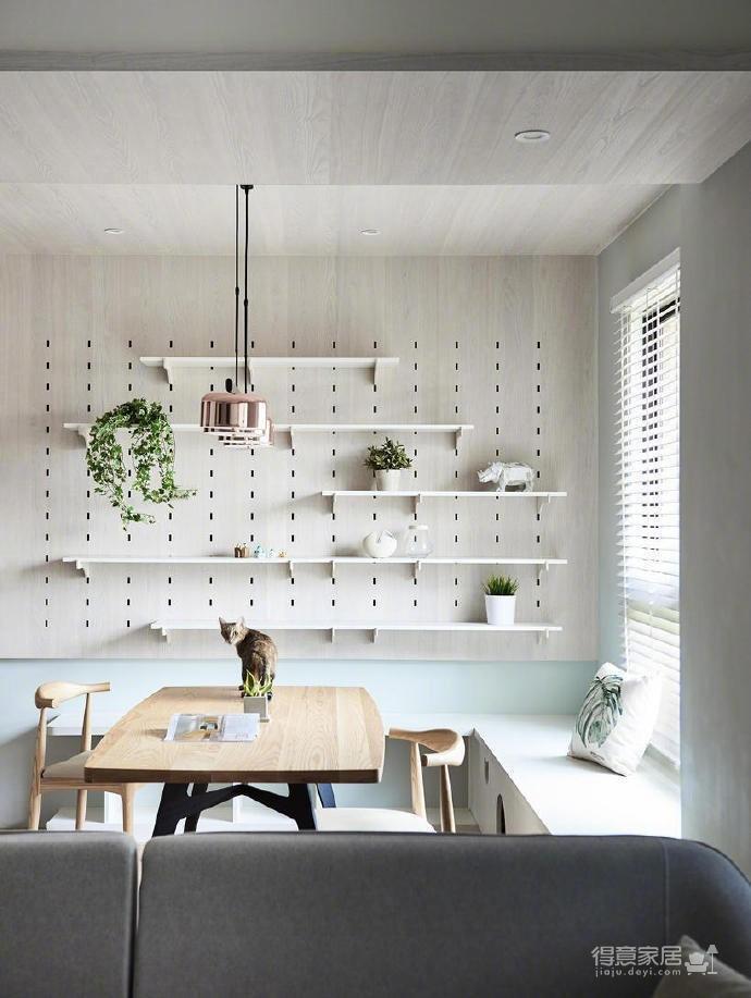 80m²两居室简约宜家风,简单舒适