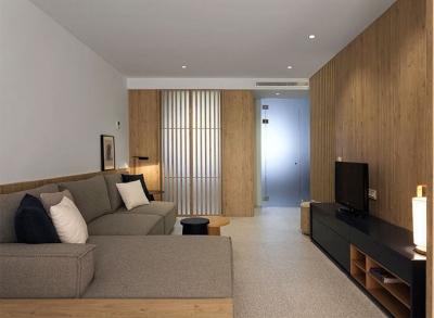 50 平米极简小公寓