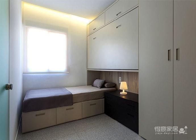 50 平米极简小公寓图_5