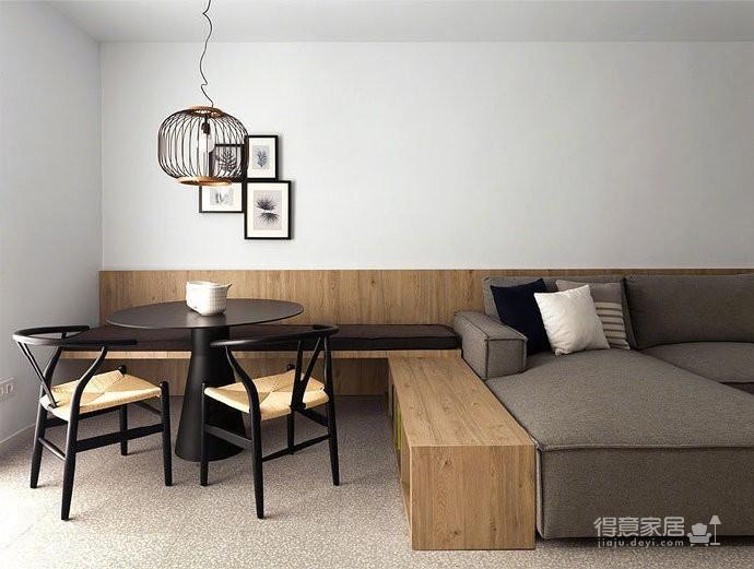 50 平米极简小公寓图_8