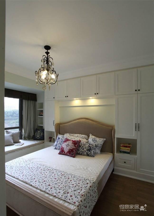 美式休闲风格两居室,清新质朴的色调!