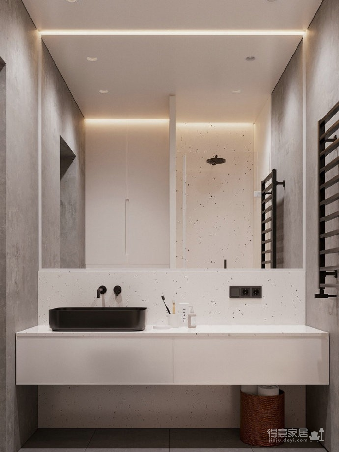 45㎡小公寓   一个人的生活也可以超精致图_2