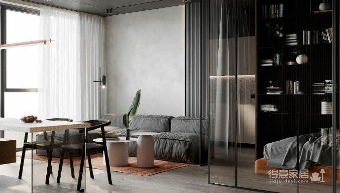 45㎡小公寓   一个人的生活也可以超精致图_7