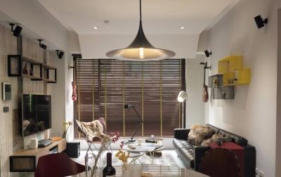 混搭超现代风两居室精选案例