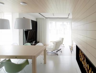 现代简约风两室一厅精选案例