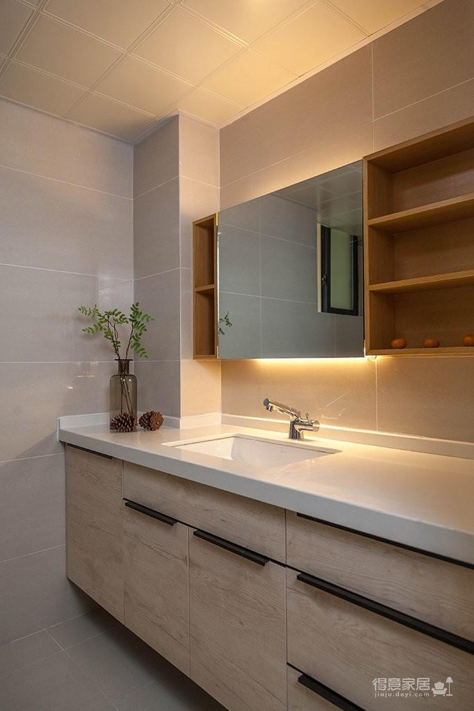 90㎡现代简约风格家居装修设计