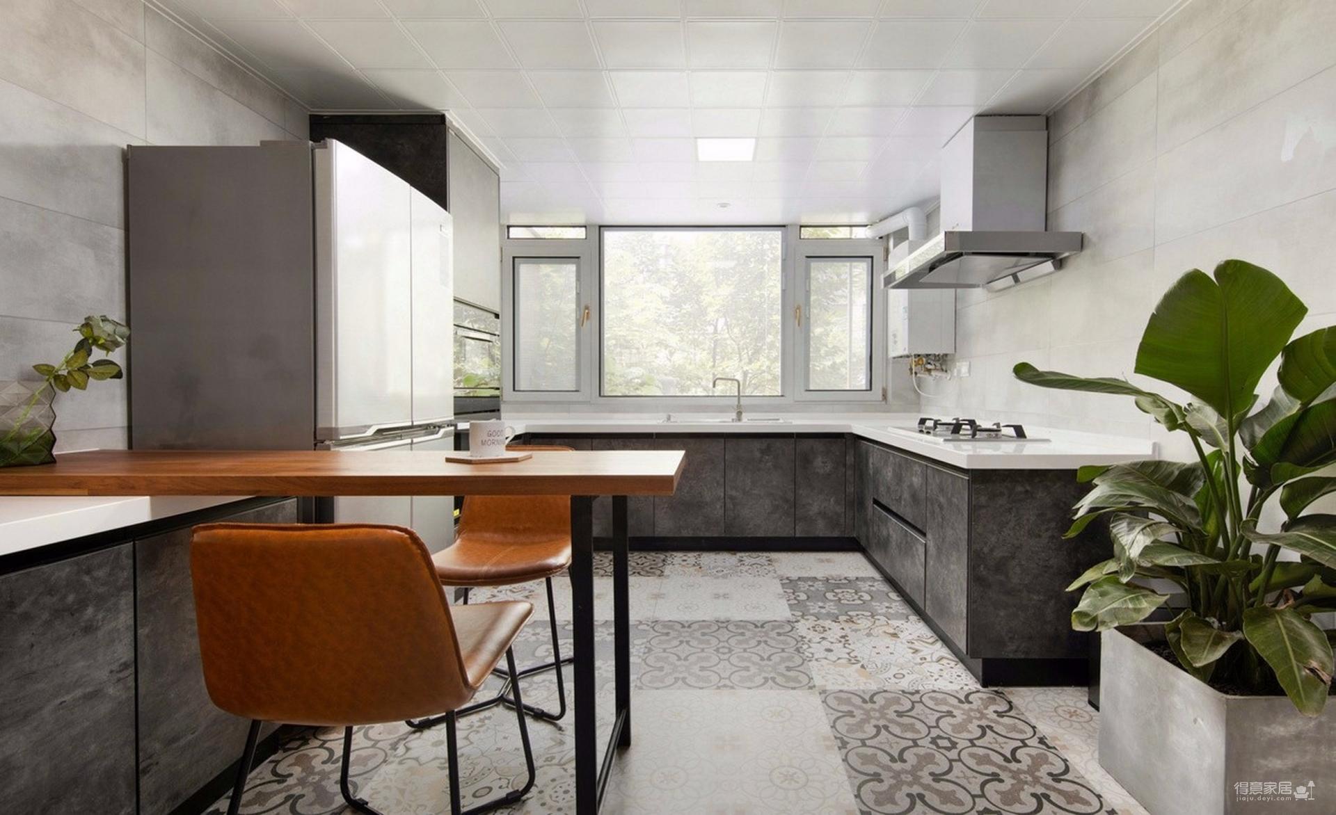 现代风三居室97平米精选案例