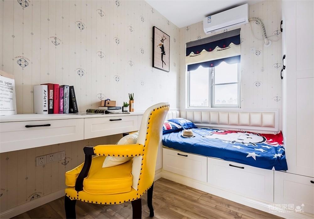 高饱和度打造的一个梦幻的家
