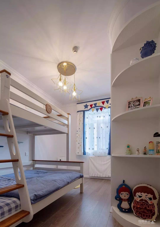 111㎡地中海风格装修,让这个家处处散发着美式地中海风情!