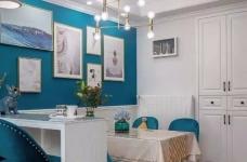 111㎡地中海风格装修,让这个家处处散发着美式地中海风情!图_9
