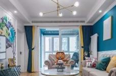111㎡地中海风格装修,让这个家处处散发着美式地中海风情!图_1