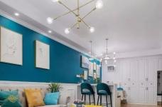 111㎡地中海风格装修,让这个家处处散发着美式地中海风情!图_5