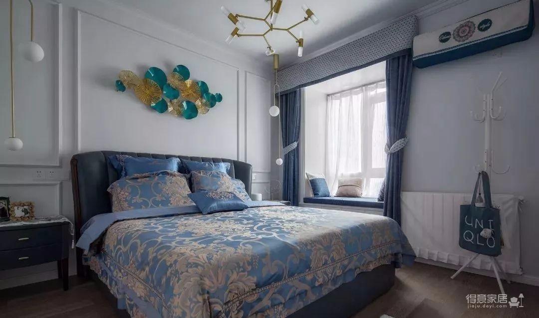 111㎡地中海风格装修,让这个家处处散发着美式地中海风情!图_12