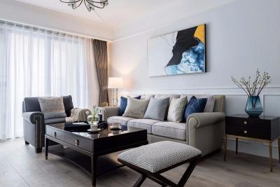 120㎡美式风格装修,优雅迷人恋上在家的感觉!