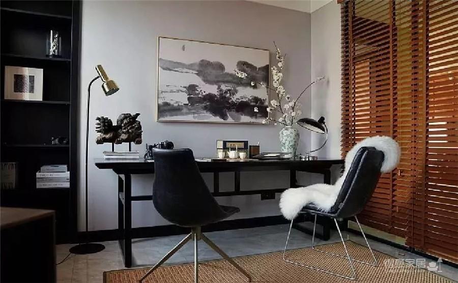 """用""""海松绿""""打造170㎡东方气质的家,太美了!"""