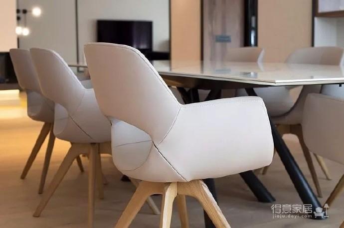 木质+大理石极简奢华现代豪宅