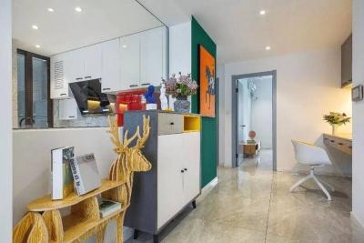 89㎡两室两厅,打造个性时髦小公寓!