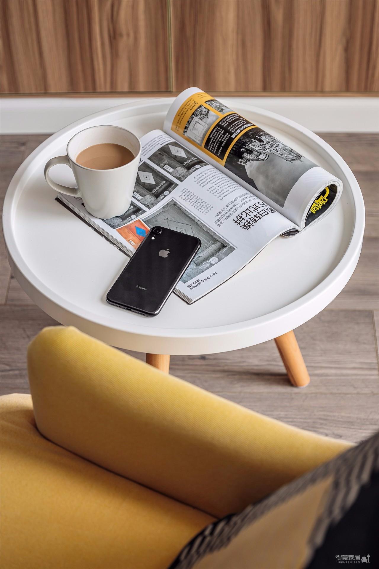 130㎡舒适北欧风格装修,生活就是简单随性!图_4