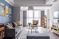 130㎡舒适北欧风格装修,生活就是简单随性!图_2