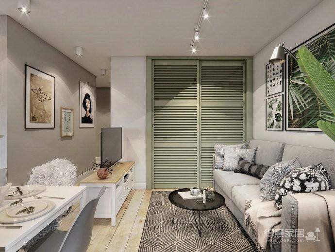 40㎡极致精简小公寓,满满的舒适感 !图_2