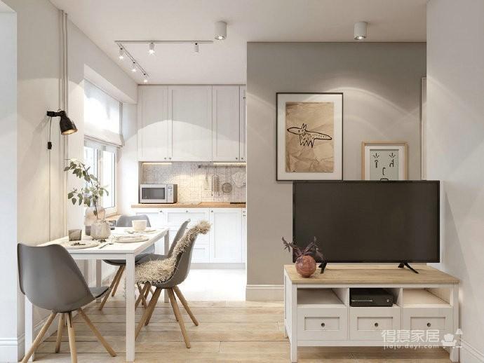 40㎡极致精简小公寓,满满的舒适感 !图_3