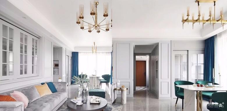 """120㎡现代主义风格装修,在沙发墙上""""开""""窗,有爱有趣的家!"""