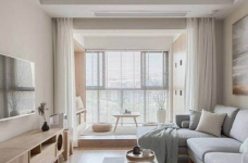 简约日式风家居设计,木质的运用使得空间格外温馨舒适!图_2