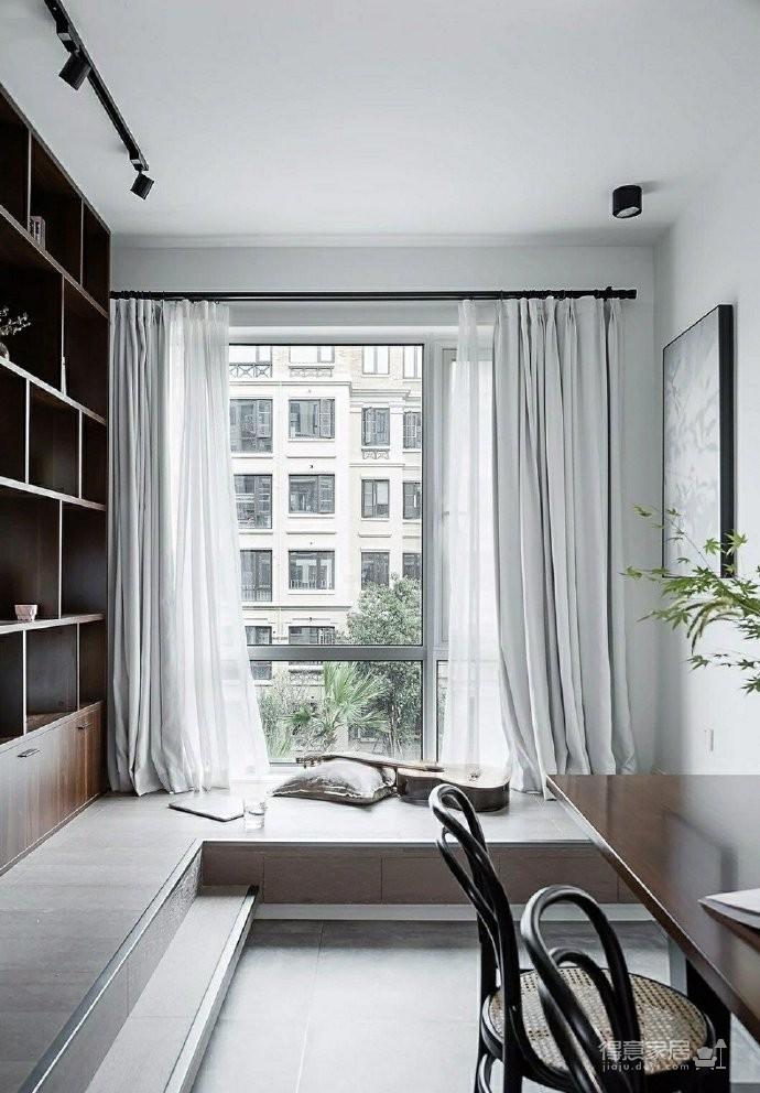 86㎡清新文艺两居室,书房的地台漂亮又实用!图_4