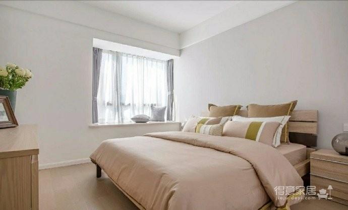 98㎡简约北欧风格家居装修设计,格外自然清新! 图_5