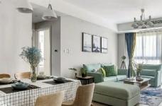 98㎡简约北欧风格家居装修设计,格外自然清新! 图_4