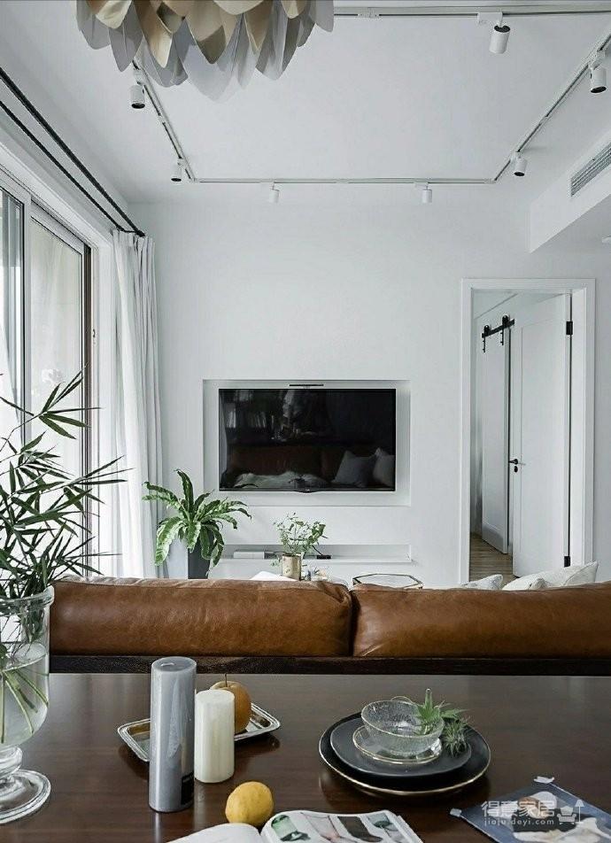 86㎡清新文艺两居室,书房的地台漂亮又实用!图_5