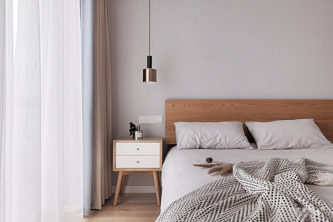 116㎡舒适北欧风格装修,充满清新文艺感的乐活小筑!图_8