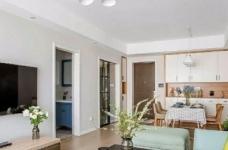 98㎡简约北欧风格家居装修设计,格外自然清新! 图_3