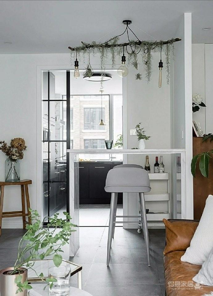 86㎡清新文艺两居室,书房的地台漂亮又实用!图_9