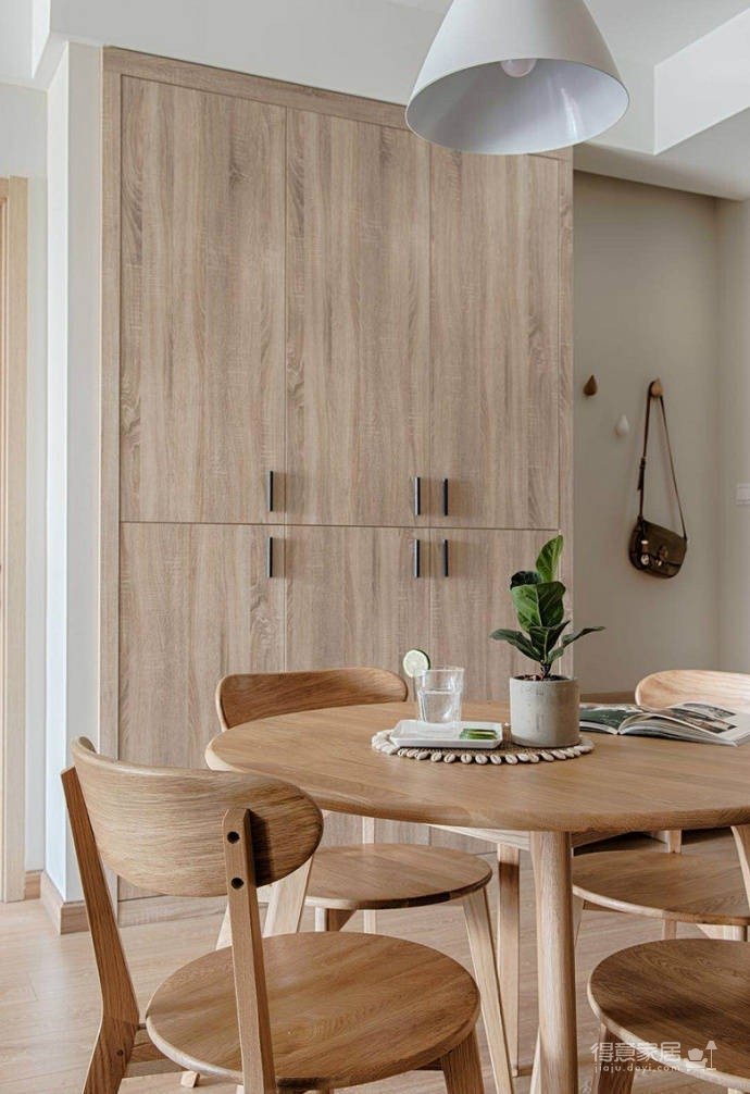 简约日式风家居设计,木质的运用使得空间格外温馨舒适!图_5