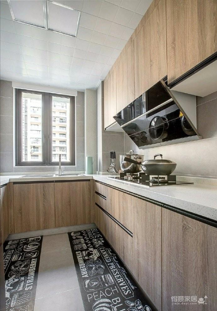 98㎡简约北欧风格家居装修设计,格外自然清新! 图_8