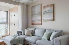简约日式风家居设计,木质的运用使得空间格外温馨舒适!图_3
