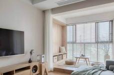 简约日式风家居设计,木质的运用使得空间格外温馨舒适!图_1