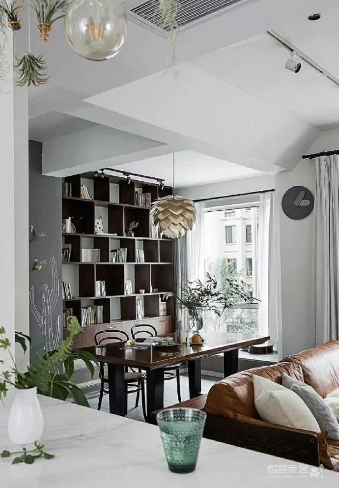 86㎡清新文艺两居室,书房的地台漂亮又实用!图_6